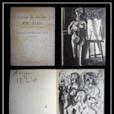 Libros de segunda mano: PICASSO. CARNET DE DE DESSINS. ÉDITIONS CAHIERS D'ART, PARÍS. 1948. Lote 154636550