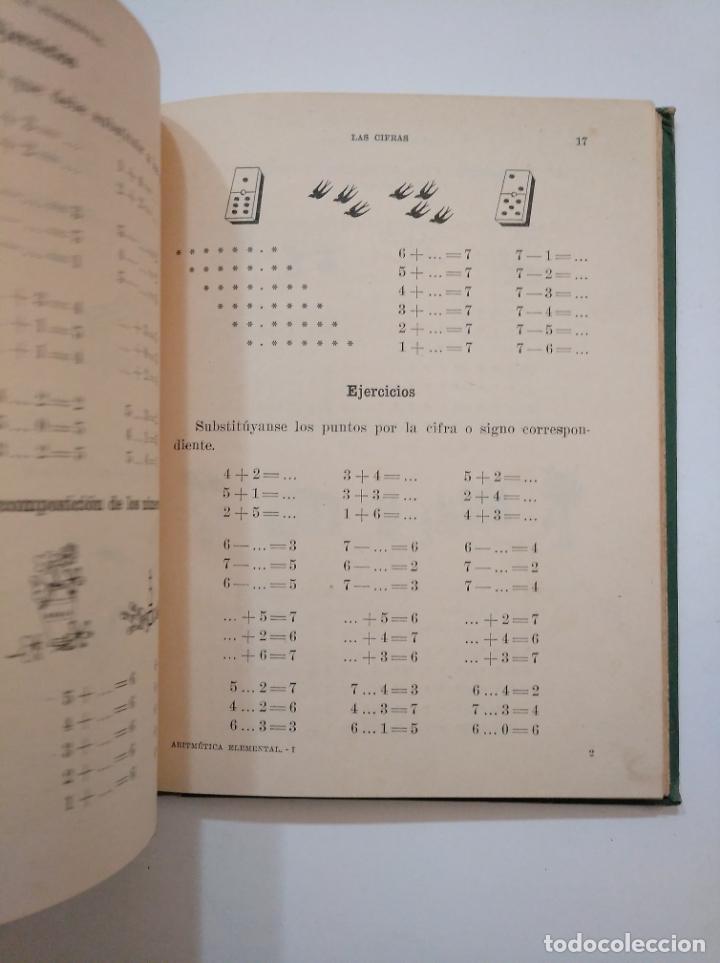 Libros de segunda mano: ARITMETICA ELEMENTAL. RAFAEL MARIMON SCH. P. PRIMER CICLO. SEIX BARRAL. TDK373 - Foto 3 - 154637894