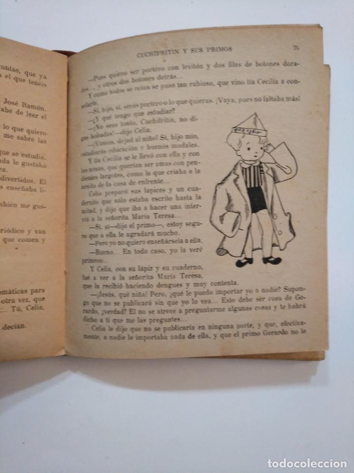 Libros de segunda mano: CUCHIFRITIN Y SUS PRIMOS. ELENA FORTUN. M. AGUILAR EDITOR 1940. TDK374 - Foto 2 - 154664338