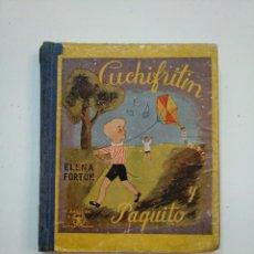 Libros de segunda mano - CUCHIFRITIN Y PAQUITO. ELENA FORTUN. M. AGUILAR EDITOR 1940. TDK374 - 154669654