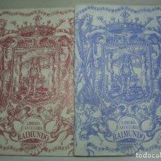 Libros de segunda mano: CATÁLOGOS Nº 1 Y 2 DE LA LIBRERIA ANTICUARIA RAIMUNDO. CÁDIZ.. Lote 154687966