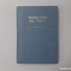 Libros de segunda mano: TECNOLOGÍA DEL TEJIDO - GALCERÁN ESCOBET, VICENTE. Lote 153100420