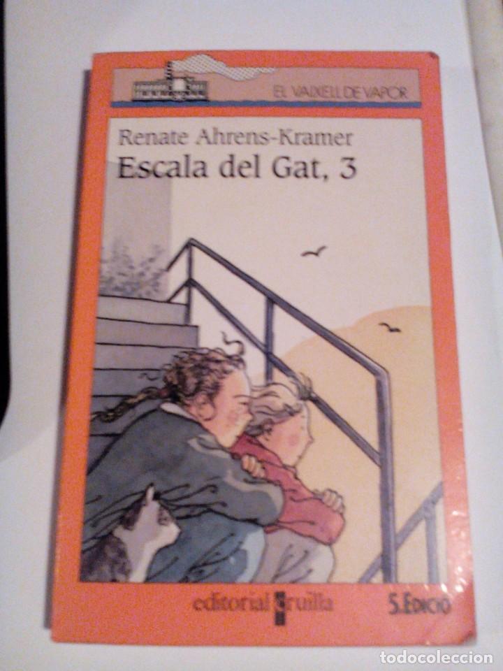 RA1_LIBRO, CATALÁN DE RENATE AHRENS KRAMER, ESCALA DEL GAT,3__MIDE APROX 19X12____159PAGINAS (Libros de Segunda Mano (posteriores a 1936) - Literatura - Otros)