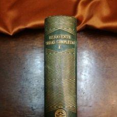 Libros de segunda mano: OBRAS COMPLETAS DE JACINTO BENAVENTE. Lote 154845094