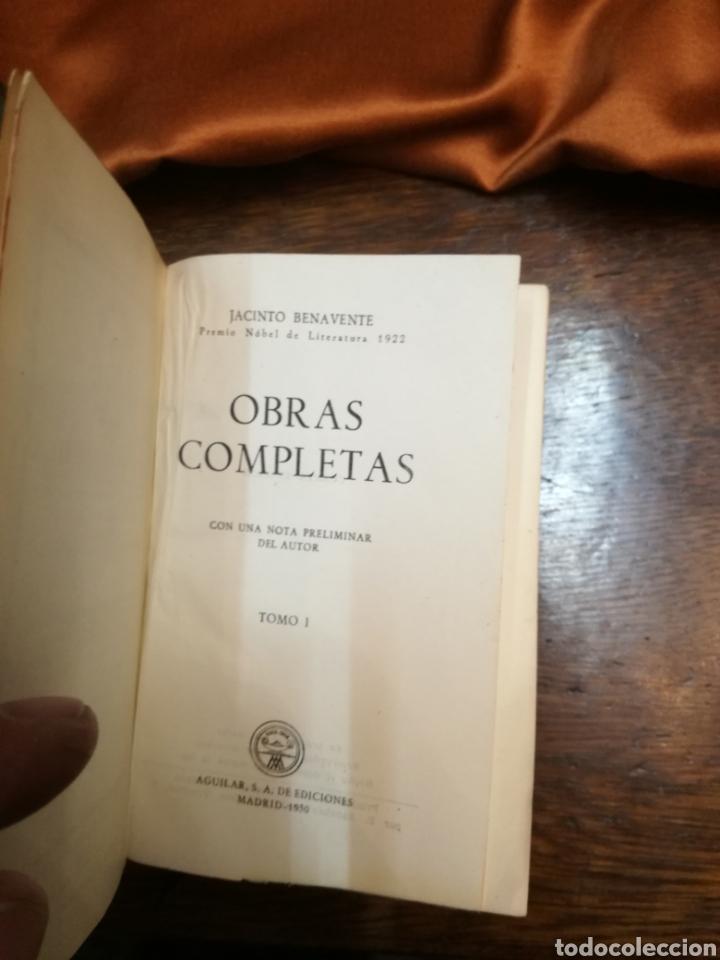 Libros de segunda mano: OBRAS COMPLETAS DE JACINTO BENAVENTE - Foto 3 - 154845094