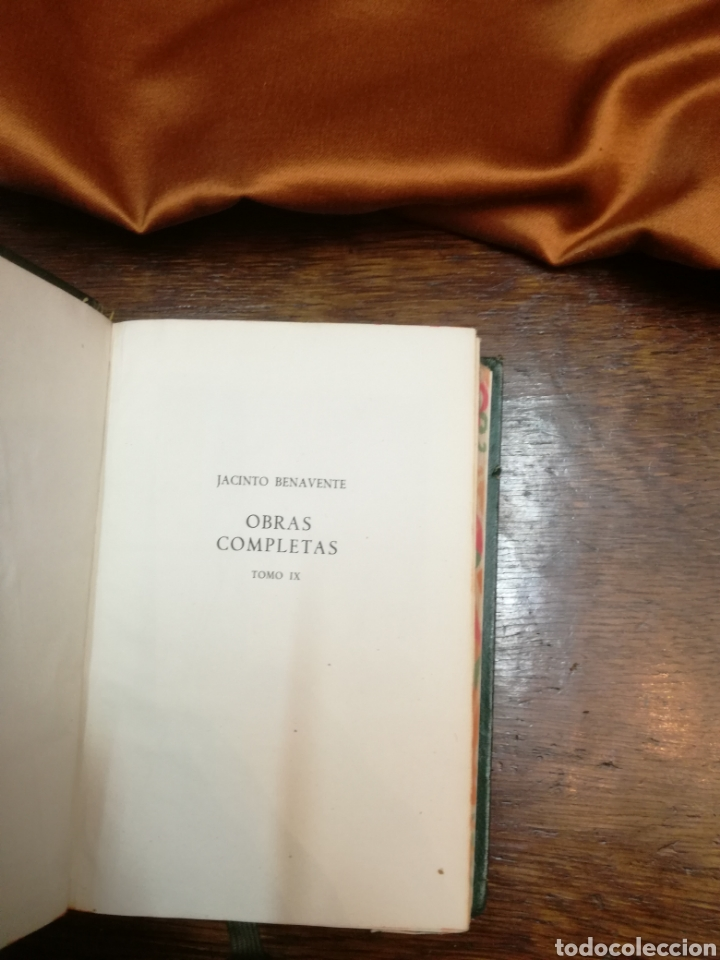 Libros de segunda mano: OBRAS COMPLETAS DE JACINTO BENAVENTE - Foto 4 - 154845644