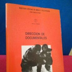Libros de segunda mano: DIRECCIÓN DE DOCUMENTALES - MICHAEL RABIGER - FOCAL PRESS, 1987. Lote 154911786