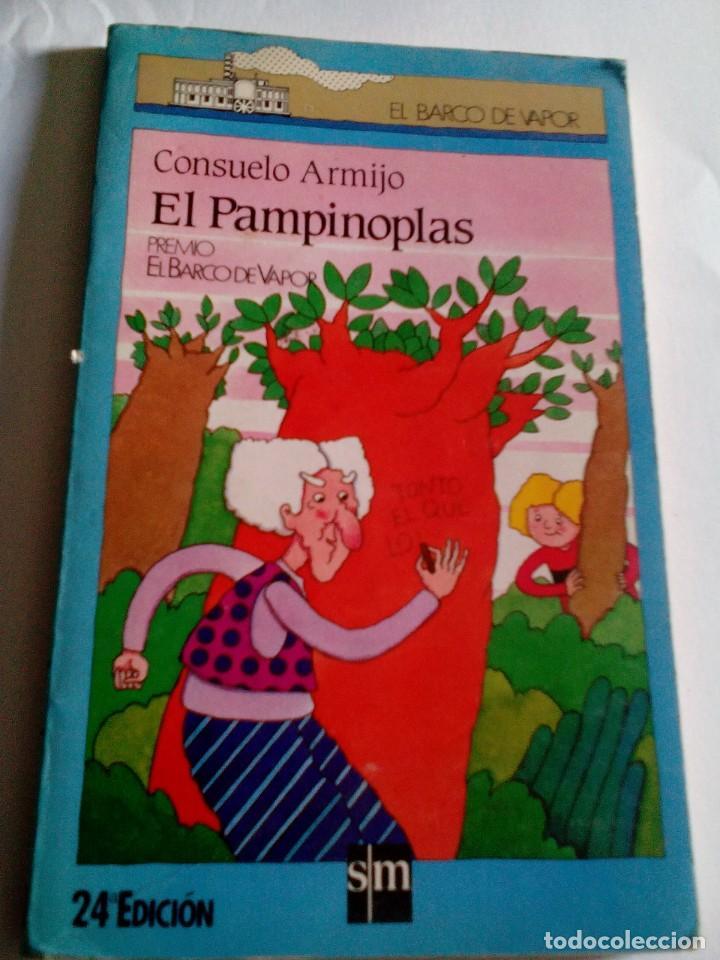 R A1_LIBRITO EL PAMPLINOPLAS DE CONSUELO ARMIJO. ,MIDE APROX 19X12CM. 161PAGINAS (Libros de Segunda Mano (posteriores a 1936) - Literatura - Otros)