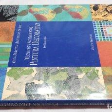 Libros de segunda mano: TECNICAS Y ACABADOS DE PINTURA DECORATIVA - RAY BRADSHAW - CELESTE ED - VER FOTOS INDICE CONTENIDO. Lote 262135570