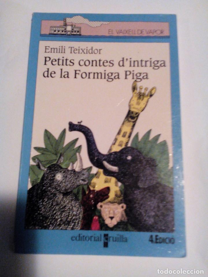 R A1_LIBRO INFANTIL, CATALÁN, PETITS CONTES D'INTRIGA MIDE APROX 19X12CM. TIENE 91PAGINAS (Libros de Segunda Mano (posteriores a 1936) - Literatura - Otros)