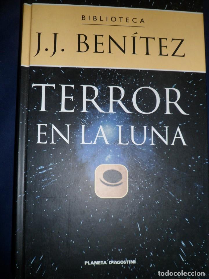 TERROR EN LA LUNA. J. J. BENITEZ. PLANETA (Libros de Segunda Mano - Parapsicología y Esoterismo - Otros)