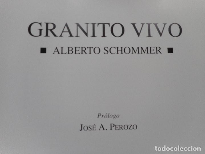 Libros de segunda mano: ALBERTO SCHOMMER Granito vivo Y93024 - Foto 2 - 155096682