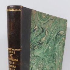 Libros de segunda mano: EL PROBLEMA DE LA TIERRA EN LA ESPAÑA DE LOS SIGLOS XVI-XVII. CARMELO VIÑAS Y MEY. MADRID. 1941.. Lote 155210230