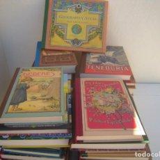 Libros de segunda mano: LOTE 37 LIBROS REEDICION LOS LIBROS DE LA ESCUELA DE ANTES DE R.B.A. Lote 155232302