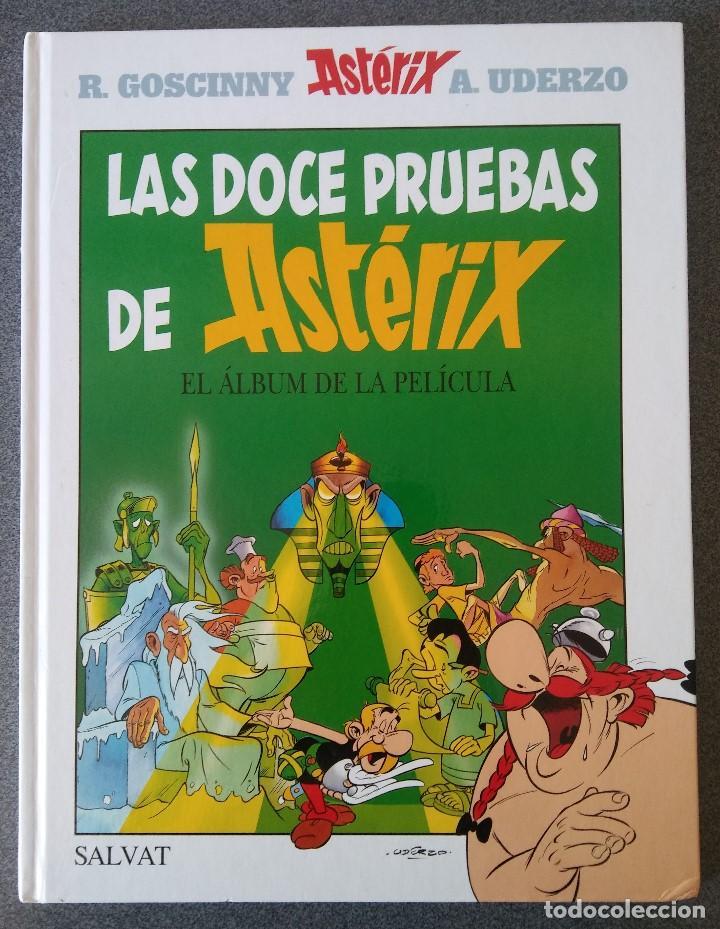 LAS DOCE PRUEBAS DE ASTERIX EL ALBÚM DE LA PELÍCULA (Libros de Segunda Mano - Literatura Infantil y Juvenil - Otros)