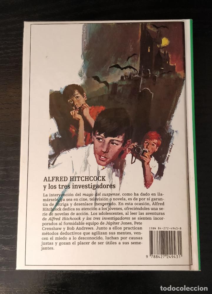 Libros de segunda mano: ESPECIAL COLECCIONISTA Alfred Hitchcock y los tres investigadores N43 Y ULTIMO!! cascarrabias - Foto 3 - 149831758