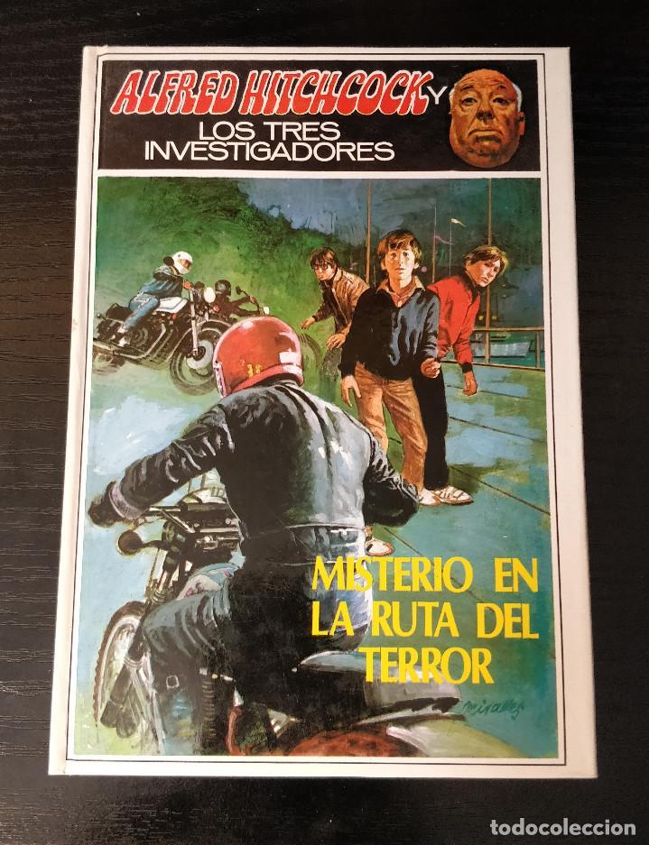 Libros de segunda mano: Alfred Hitchcock y los tres investigadores N39 El misterio de la ruta del terror - Foto 2 - 155283322