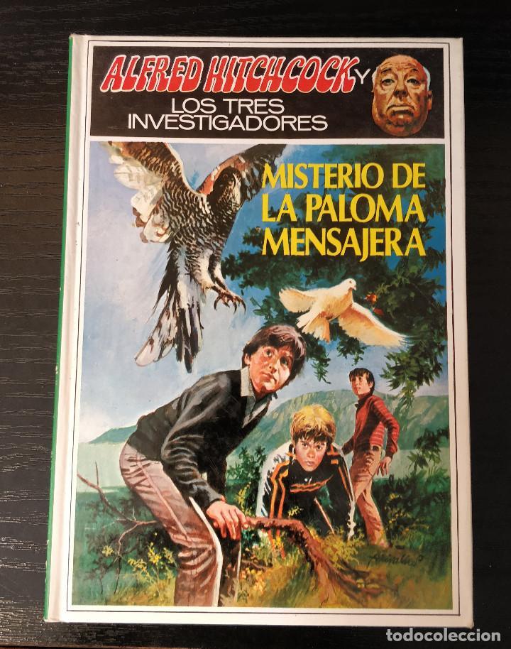 Libros de segunda mano: Alfred Hitchcock y los tres investigadores N37 El misterio de la paloma mensajera - Foto 2 - 155283654