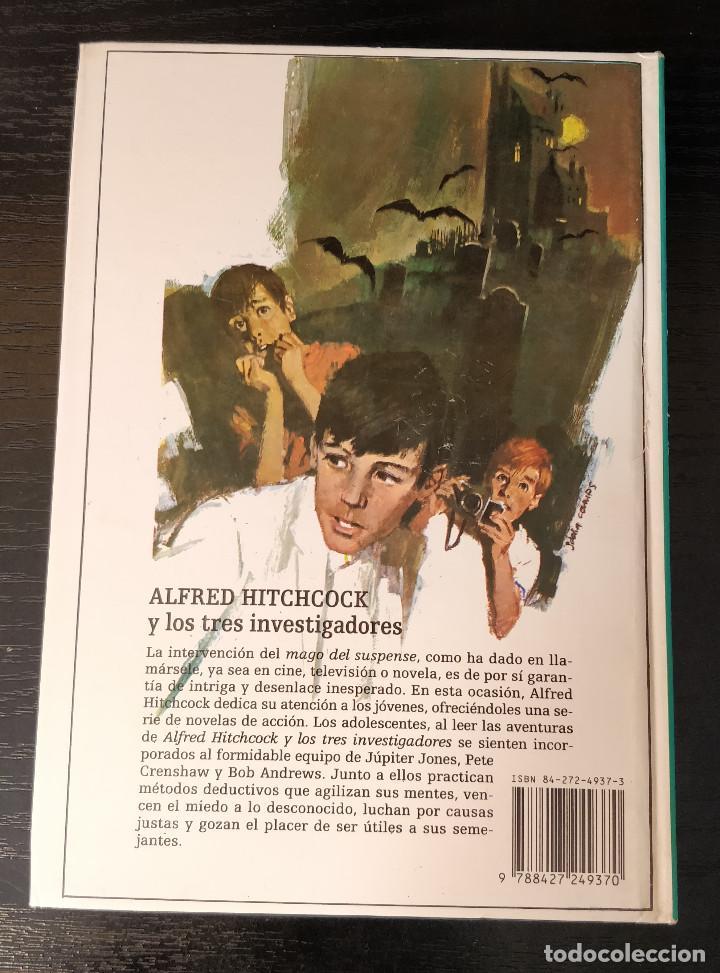 Libros de segunda mano: Alfred Hitchcock y los tres investigadores N37 El misterio de la paloma mensajera - Foto 3 - 155283654