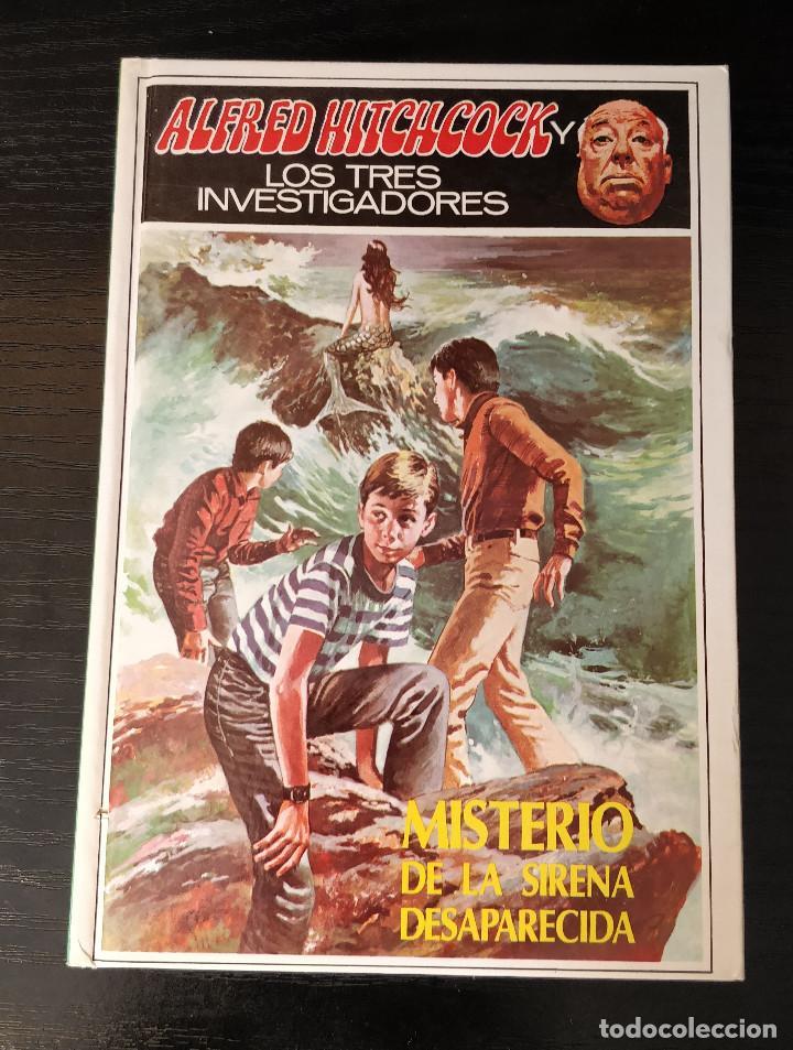 Libros de segunda mano: Alfred Hitchcock y los tres investigadores N36 El misterio de la sirena desaparecida - Foto 2 - 155284102