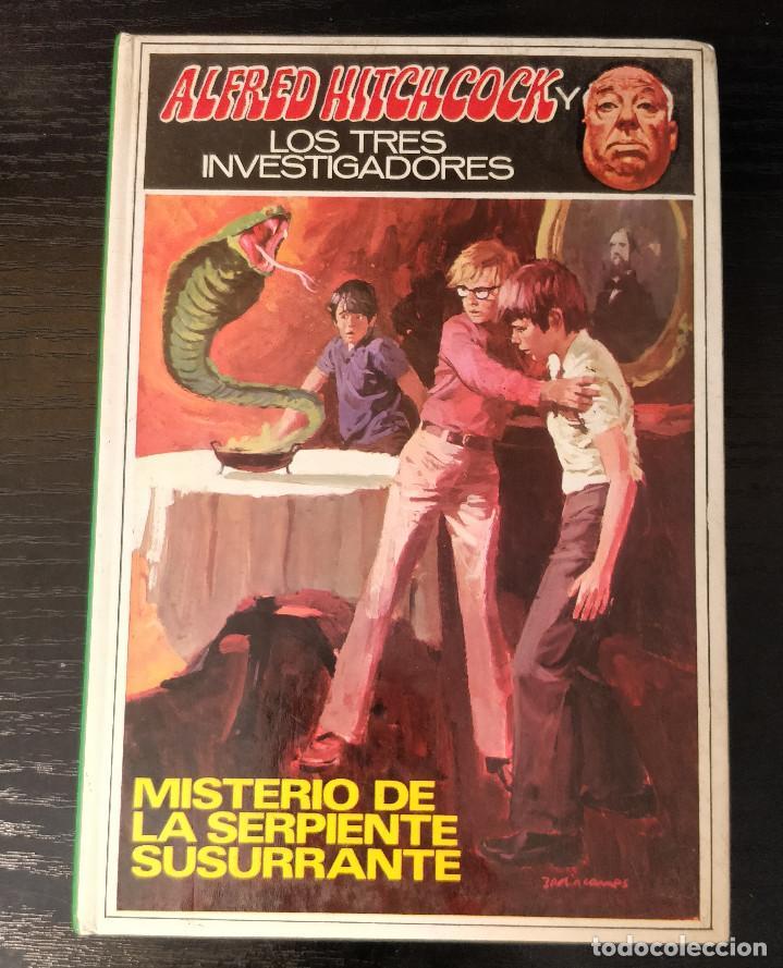 Libros de segunda mano: Alfred Hitchcock y los tres investigadores N17 El misterio de serpiente susurrante - Foto 2 - 155285962
