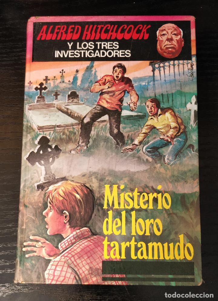 Libros de segunda mano: ESPECIAL COLECCIONISTA Alfred Hitchcock y los tres investigadores El misterio del loro tartamudo - Foto 2 - 155287286