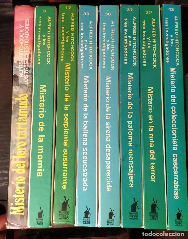 Libros de segunda mano: ESPECIAL COLECCIONISTA Alfred Hitchcock y los tres investigadores El misterio del loro tartamudo - Foto 4 - 155287286