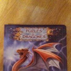 Libros de segunda mano: LIBRO PUZLES DE DRAGONES. Lote 155319556