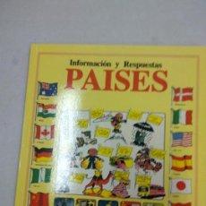 Libros de segunda mano: INFORMACIÓN Y RESPUESTAS - PAISES - PLESA . Lote 155347510