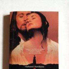Libros de segunda mano: LA LETRA ESCARLATA - NATHANIEL HAWTHORNE _LEY549. Lote 155369866