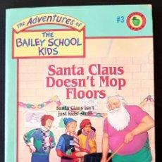Libros de segunda mano: LIBROS EN INGLES: 8 BOOKS THE ADVENTURES OF BAILEY SCHOOL KIDS. Lote 155455509