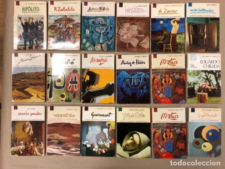 LOTE DE 18 EJEMPLARES DE ARTISTAS ESPAÑOLES CONTEMPORÁNEOS. ZABALETA, A. FERRANT, MAMPASO, A. ZARCO, (Libros de Segunda Mano - Bellas artes, ocio y coleccionismo - Otros)
