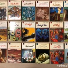 Libros de segunda mano: LOTE DE 18 EJEMPLARES DE ARTISTAS ESPAÑOLES CONTEMPORÁNEOS. ZABALETA, A. FERRANT, MAMPASO, A. ZARCO,. Lote 155469714