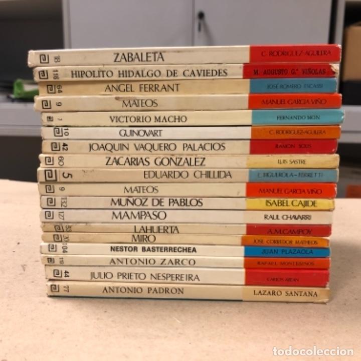 Libros de segunda mano: LOTE DE 18 EJEMPLARES DE ARTISTAS ESPAÑOLES CONTEMPORÁNEOS. ZABALETA, A. FERRANT, MAMPASO, A. ZARCO, - Foto 2 - 155469714