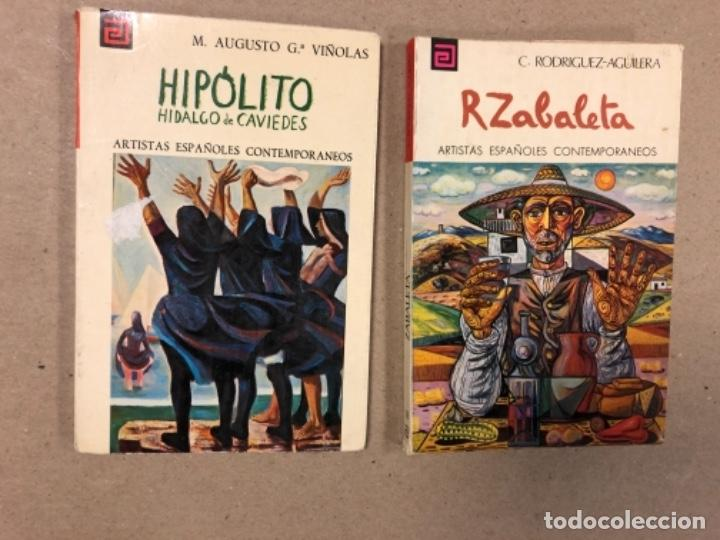 Libros de segunda mano: LOTE DE 18 EJEMPLARES DE ARTISTAS ESPAÑOLES CONTEMPORÁNEOS. ZABALETA, A. FERRANT, MAMPASO, A. ZARCO, - Foto 3 - 155469714