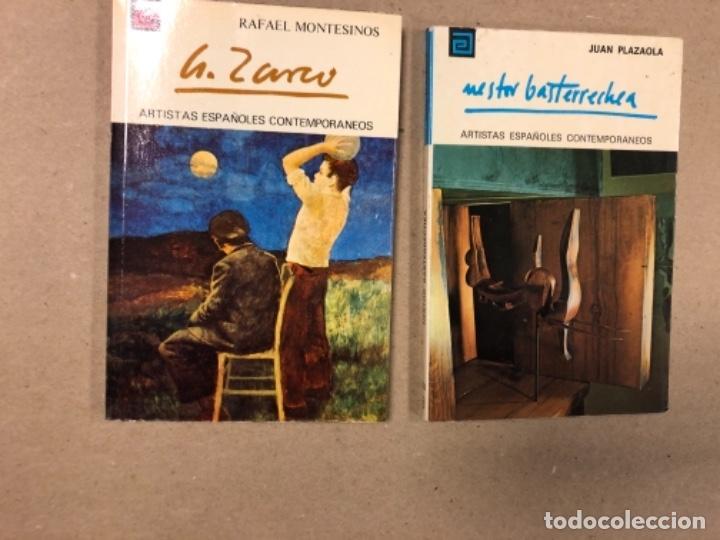 Libros de segunda mano: LOTE DE 18 EJEMPLARES DE ARTISTAS ESPAÑOLES CONTEMPORÁNEOS. ZABALETA, A. FERRANT, MAMPASO, A. ZARCO, - Foto 4 - 155469714