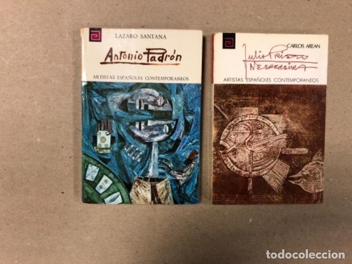 Libros de segunda mano: LOTE DE 18 EJEMPLARES DE ARTISTAS ESPAÑOLES CONTEMPORÁNEOS. ZABALETA, A. FERRANT, MAMPASO, A. ZARCO, - Foto 5 - 155469714