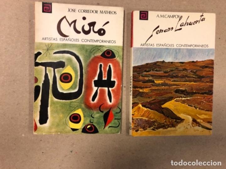 Libros de segunda mano: LOTE DE 18 EJEMPLARES DE ARTISTAS ESPAÑOLES CONTEMPORÁNEOS. ZABALETA, A. FERRANT, MAMPASO, A. ZARCO, - Foto 6 - 155469714