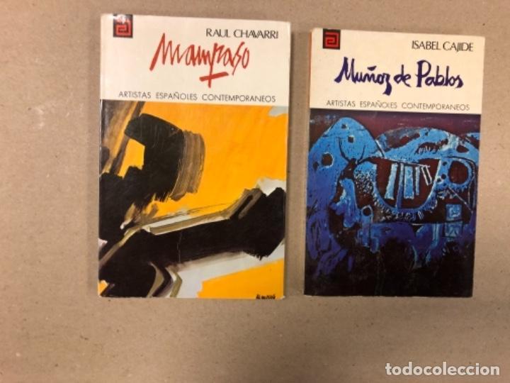 Libros de segunda mano: LOTE DE 18 EJEMPLARES DE ARTISTAS ESPAÑOLES CONTEMPORÁNEOS. ZABALETA, A. FERRANT, MAMPASO, A. ZARCO, - Foto 7 - 155469714