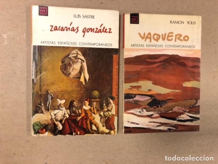 Libros de segunda mano: LOTE DE 18 EJEMPLARES DE ARTISTAS ESPAÑOLES CONTEMPORÁNEOS. ZABALETA, A. FERRANT, MAMPASO, A. ZARCO, - Foto 8 - 155469714