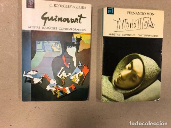 Libros de segunda mano: LOTE DE 18 EJEMPLARES DE ARTISTAS ESPAÑOLES CONTEMPORÁNEOS. ZABALETA, A. FERRANT, MAMPASO, A. ZARCO, - Foto 10 - 155469714