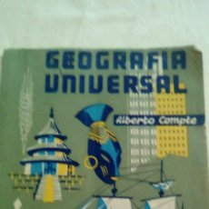 Libros de segunda mano: GEOGRAFIA UNIVERSAL ED. MARFIL ALBERTO COMPTE. 1958. Lote 155513458