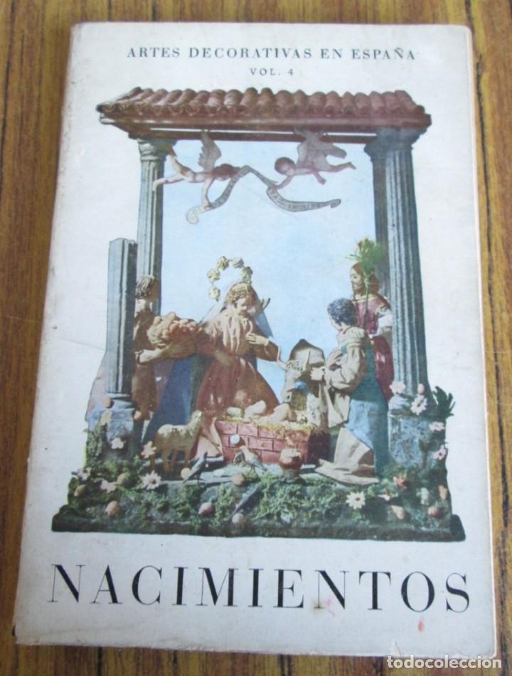 NACIMIENTOS - EXPOSICIÓN CELEBRADA EN EL MUSEO NACIONAL DE ARTES DECORATIVAS (Libros de Segunda Mano - Bellas artes, ocio y coleccionismo - Otros)