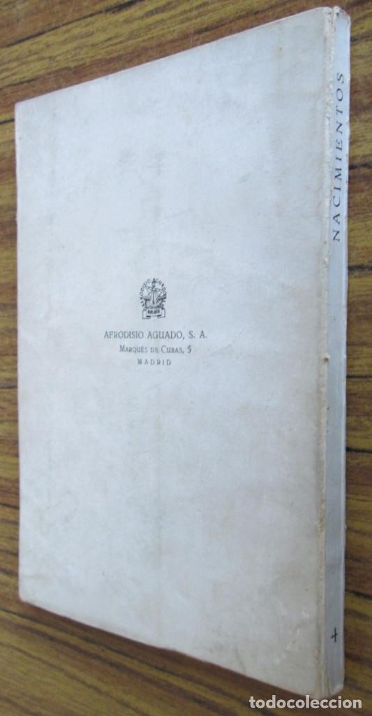 Libros de segunda mano: NACIMIENTOS - Exposición celebrada en el museo nacional de artes decorativas - Foto 2 - 155520354