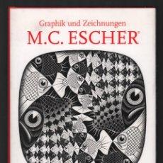 Libros de segunda mano: M.C. ESCHER GRAPHIK UND ZIEGCHUNGEN OBRAS GRÁFICAS Y DIBUJOS ED TASCHEN 2008 1ª EDICIÓN 76 OBRAS . Lote 155521438