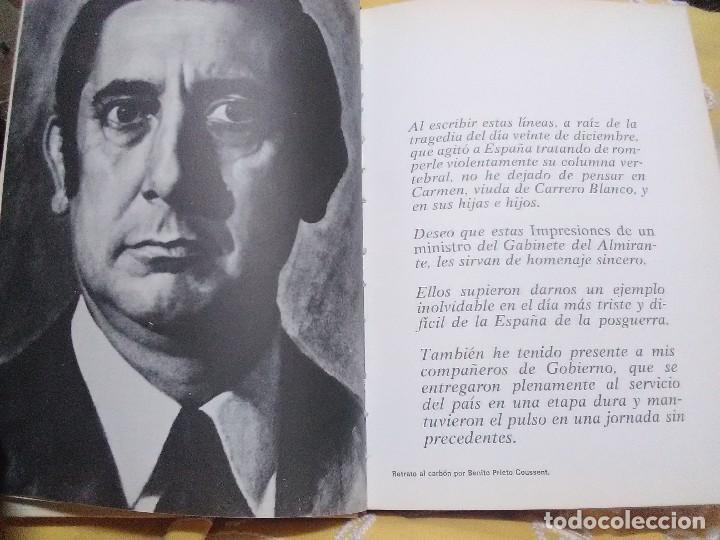 Libros de segunda mano: Impresiones de un ministro de Carrero Blanco. Julio Rodríguez. Planeta, 1974. - Foto 3 - 155534754