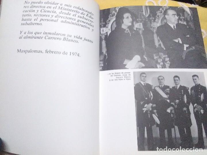 Libros de segunda mano: Impresiones de un ministro de Carrero Blanco. Julio Rodríguez. Planeta, 1974. - Foto 4 - 155534754