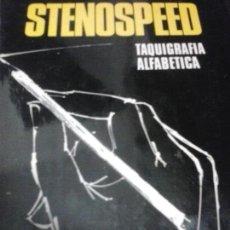 Libros de segunda mano: STENOSPEED (TAQUIGRAFÍA ALFABÉTICA) POR FERNANDO FRAIZ ULECIA DE ACADEMIA AMERICANA EN CARACAS. Lote 155539778