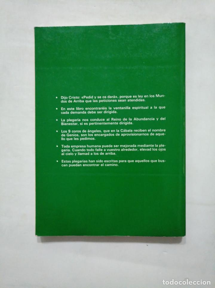 Libros de segunda mano: PLEGARIAS Y EXHORTOS DE LOS 72 GENIOS DE LA CÁBALA. KABALEB. MISTERIOS DE LA OBRA DIVINA. TDK377 - Foto 2 - 162797350