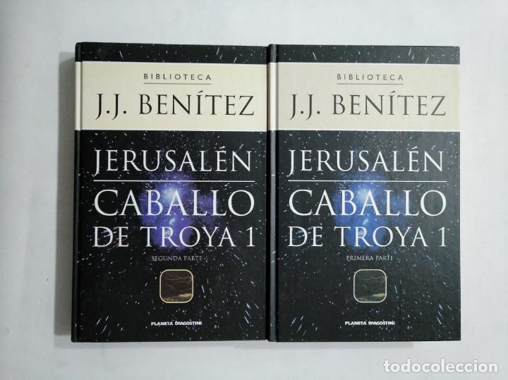 JERUSALEN. CABALLO DE TROYA 1. PRIMERA Y SEGUNDA PARTE. EDITORIAL PLANETA DEAGOSTINI. TDK377 (Libros de Segunda Mano - Parapsicología y Esoterismo - Otros)